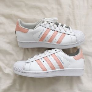 d967b659bd8 Adidas Superstar Peach Pink Women s 7.5 ...